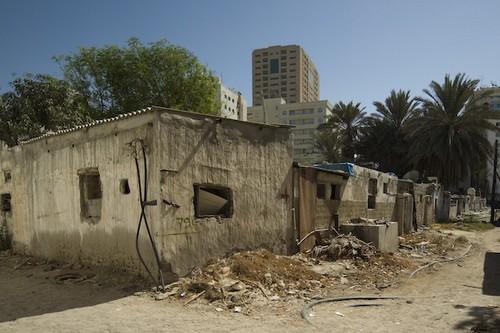 Horrid Slums of Dubai