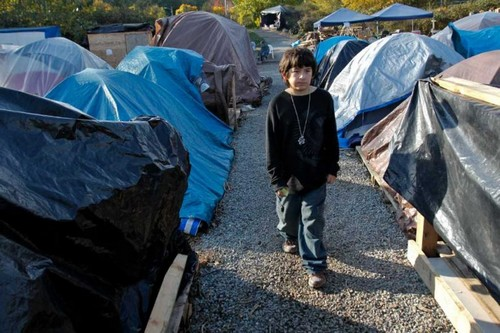 Horrid Slums in Seattle, Washington
