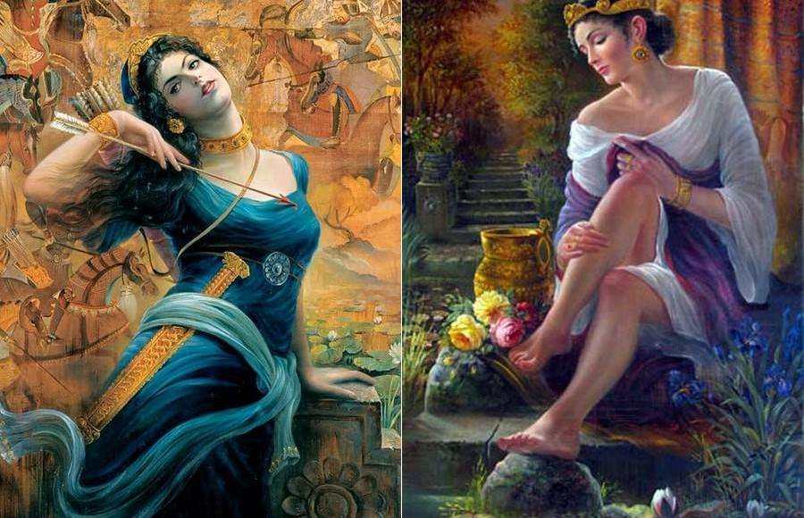 The Historical Persian Queens