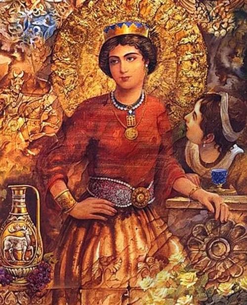 Historical Persian Queens
