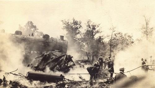 Hagenbeck-Wallace Train Wreck
