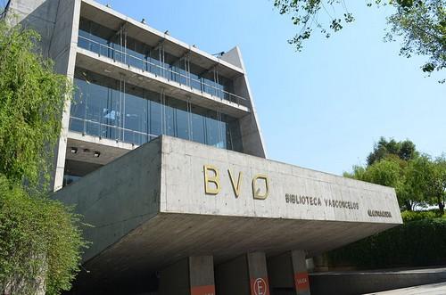 art Libraries buildings in México City