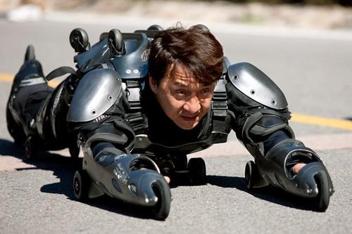 Jackie Chan's Latest Stunt