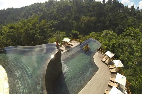 Hanging Gardens Ubud Exotic Man-Made Infinity Pools