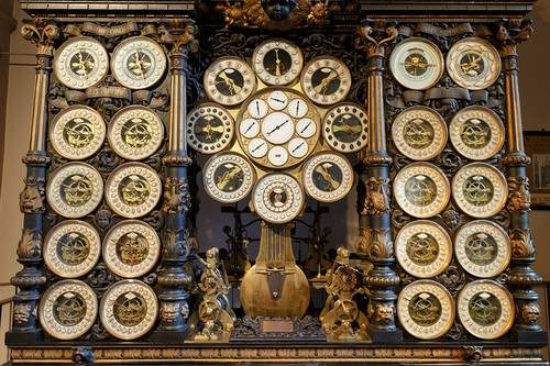 Astronomical clocks in Besançon Cathedral