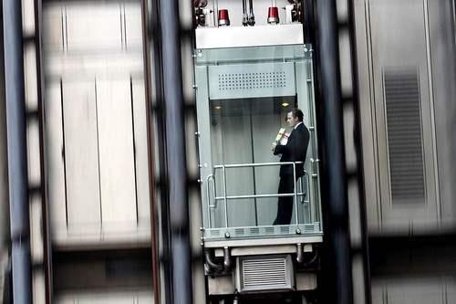 Lloyd's Building Elevator