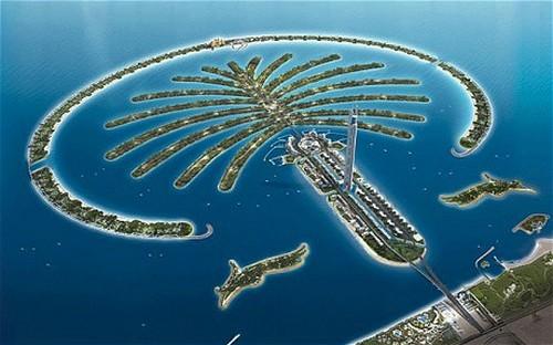 Palm artificial Islands