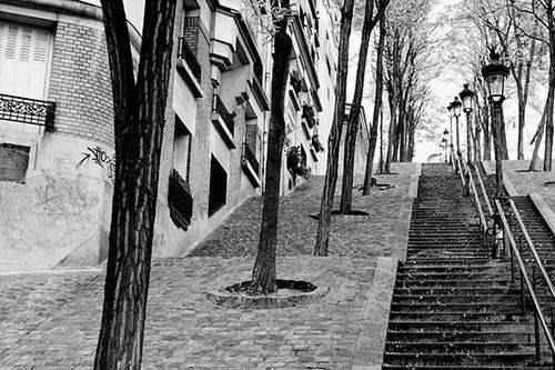 Rue Foyatier stairway