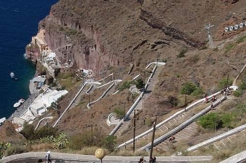 Santorini Stairway