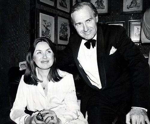 John Stonehouse with wife Sheila