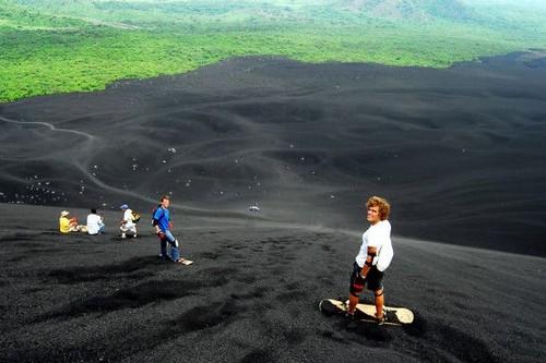 Best Sandboarding Destinations in Cerro Negro