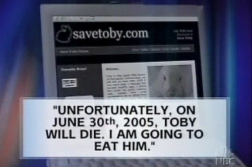 Save Toby Internet Hoaxes