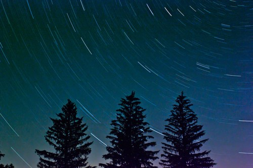Star Trail from Cherry Springs State Park