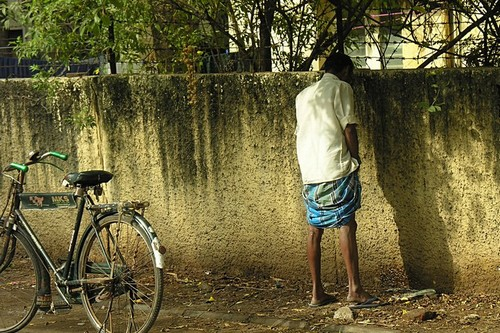 Peeing Publicly in india
