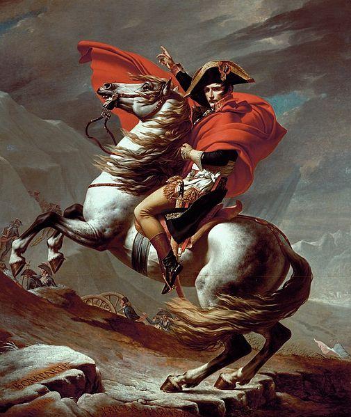 David Napoleon and Famous War Horses