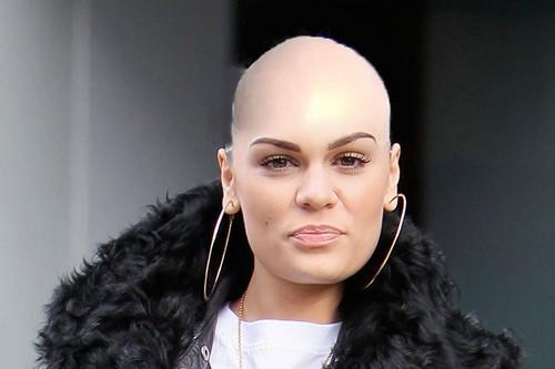 Jessie J shaved head