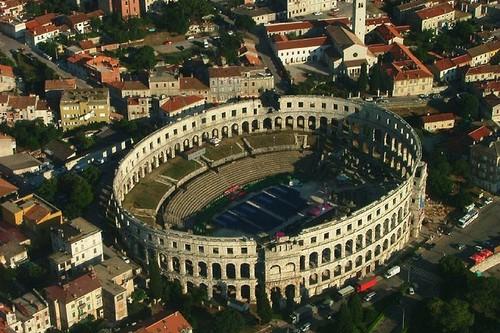 Pula Arena Roman Theatres