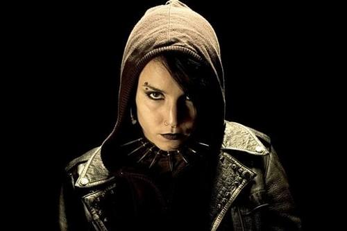 Noomi Rapace as Lisbeth Salander