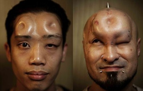 Bagel heads