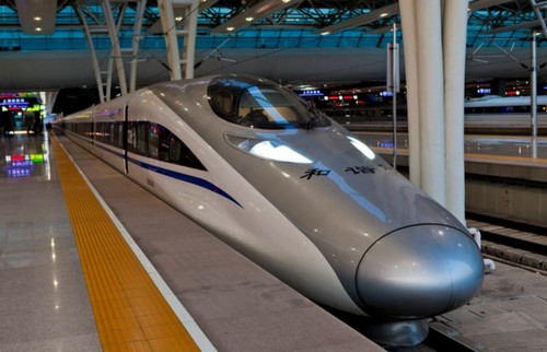 fastest train Harmony 380 A