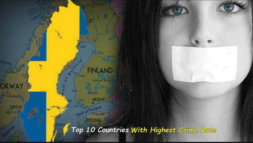Countries With Highest Crime Rate