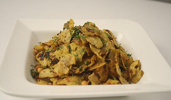 Roti Churi dish prepared with leftover food
