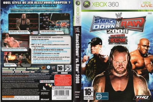 Smack Down vs. Raw (2008)