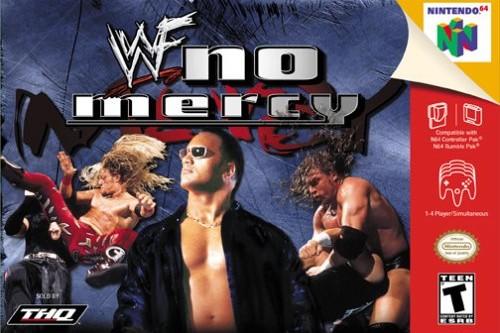 WWE video games WWF No Mercy