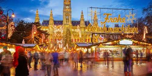 Christmas Market Vienna, Austria