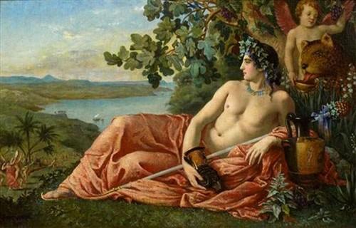 Dionysos dieu du vin