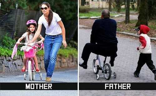 Hilarious Differences Between Mom and Dad