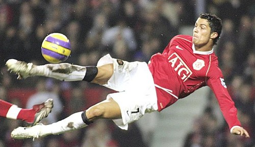 Bicycle kick, Ronaldo