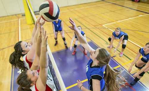 Women Volleyball Players