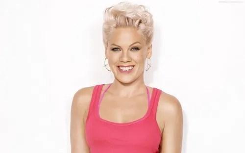 Pink Singer Short Hair