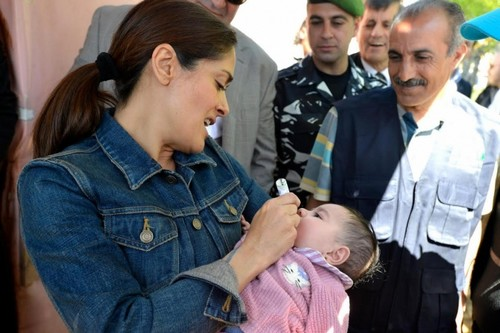 Salma Hayek Humanitarian Work