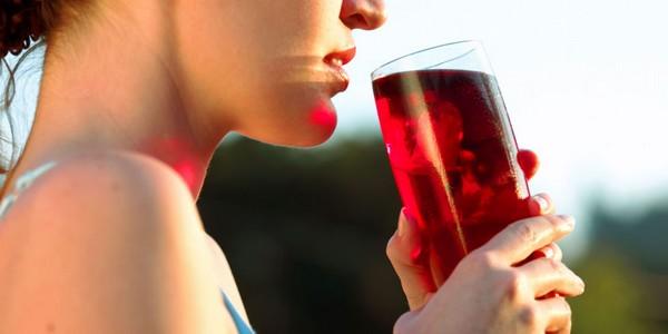 Boost Immunity via cranberry juice