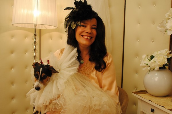 Woman marries her dog