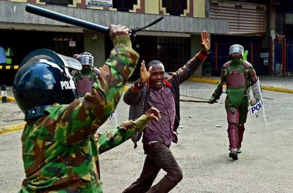 Kenya police brutality
