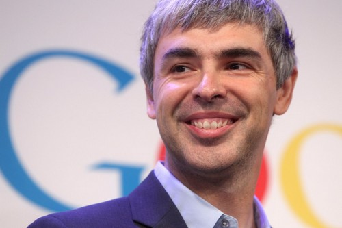 Larry Page CEO of Alphabet