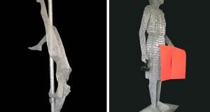 Tallest paperclip sculpture