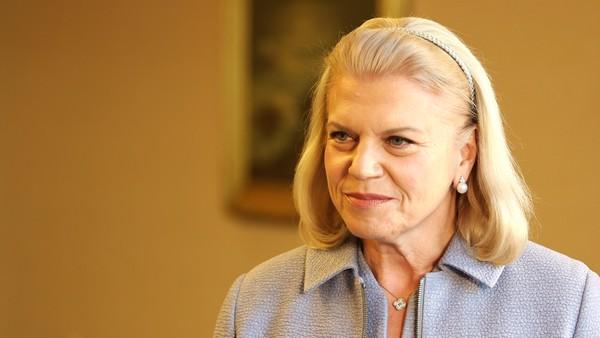 Virginia Rometty, CEO of IBM