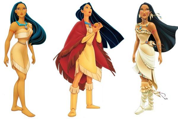 Pocahontas Disney princess