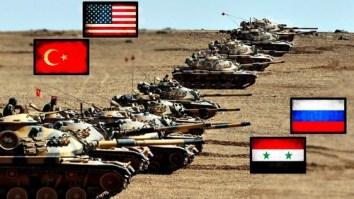 USA and TURKEY VS RUSSIA and CHINA