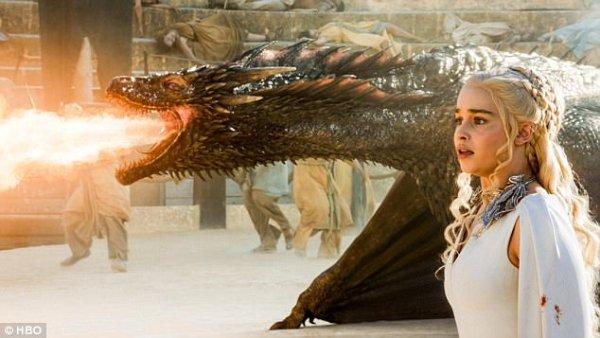 Game of Thrones Season 7 Dragons