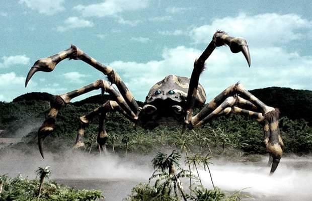 Kumonga Interesting Kaiju Monsters