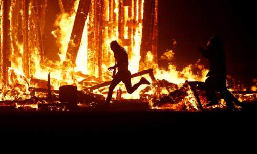 The burning man festival, Nevada and the death of a 41 year old man