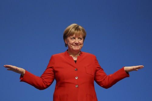 Angela Merkel powerful Lady