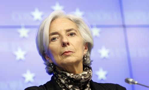 Christine Lagarde Powerful Lady