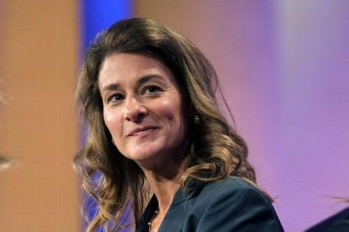 Melinda Gates Powerful lady
