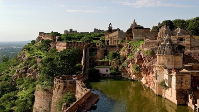 Chittorgarh Fort - Rajasthan, India. Most amazing places on Earth